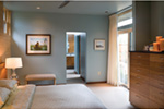 Contemporary House Plan Master Bedroom Photo 03 - Juno Modern Home 011D-0266 | House Plans and More