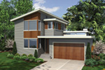 Vacation House Plan Side View Photo 02 - Heika Modern Home  011D-0267 | House Plans and More