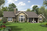 Rear Photo 01 -  011D-0280 | House Plans and More
