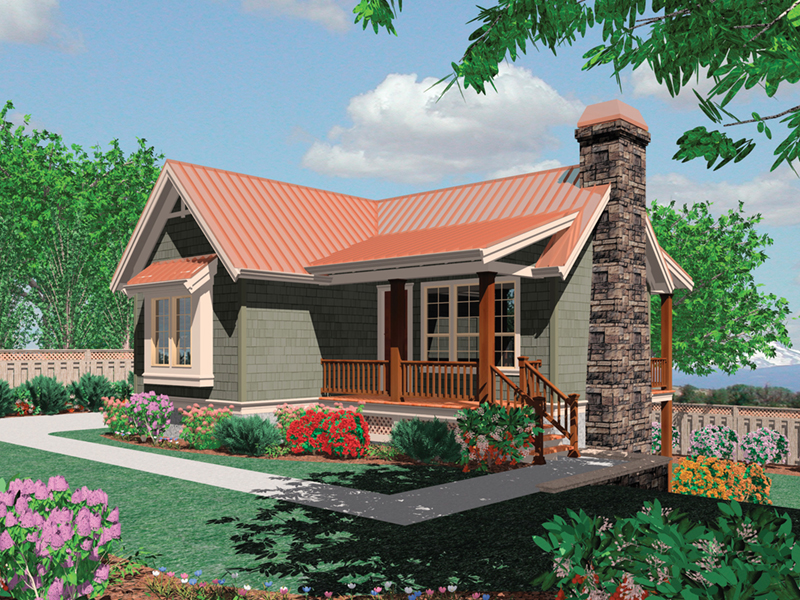 Front of Home -  011D-0285 | House Plans and More