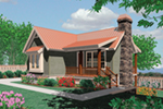 Front of Home - River Grove Harbor Cottage Home  011D-0285 | House Plans and More