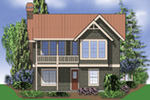 Rear Photo 01 - River Grove Harbor Cottage Home  011D-0285 | House Plans and More