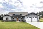 Mountain Home Plan Front of Home - Fabito Rustic Prairie Home 011D-0311 | House Plans and More