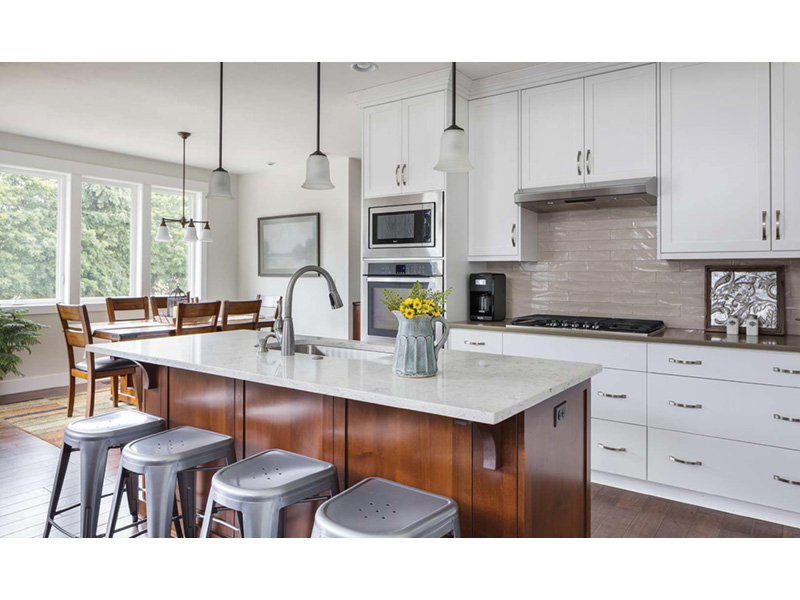 Mountain Home Plan Kitchen Photo 02 - Fabito Rustic Prairie Home 011D-0311 | House Plans and More