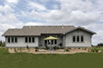 Mountain Home Plan Rear Photo 01 - Fabito Rustic Prairie Home 011D-0311 | House Plans and More