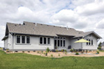 Mountain Home Plan Rear Photo 02 - Fabito Rustic Prairie Home 011D-0311 | House Plans and More