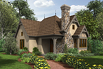 Cabin & Cottage House Plan Front of Home - Maxton Tudor Cottage Home 011D-0312 | House Plans and More