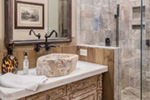 Country French House Plan Bathroom Photo 02 - Robbin English Cottage Home 011D-0313 | House Plans and More