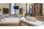 Country French House Plan Bathroom Photo 05 - Robbin English Cottage Home 011D-0313 | House Plans and More