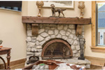 Country French House Plan Fireplace Photo 01 - Robbin English Cottage Home 011D-0313 | House Plans and More