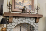 Country French House Plan Fireplace Photo 02 - Robbin English Cottage Home 011D-0313 | House Plans and More