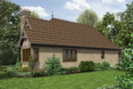 European House Plan Color Image of House - Robbin English Cottage Home 011D-0313 | House Plans and More