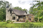 Country French House Plan Side View Photo 01 - Robbin English Cottage Home 011D-0313 | House Plans and More