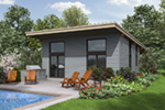 Ranch House Plan Rear Photo 01 - Tate Modern Home 011D-0314 | House Plans and More