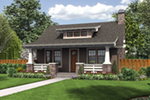 Ranch House Plan Front of Home - Willowdale Bungalow Home 011D-0315 | House Plans and More