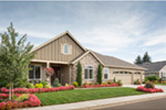Traditional House Plan Front Photo 10 - Saxon Ridge Country Home  011D-0327 | House Plans and More