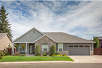 Traditional House Plan Front of Home Photo 12 - Saxon Ridge Country Home  011D-0327 | House Plans and More