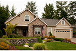Traditional House Plan Front Photo 03 - Saxon Ridge Country Home  011D-0327 | House Plans and More