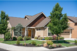 Traditional House Plan Front Photo 04 - Saxon Ridge Country Home  011D-0327 | House Plans and More