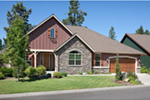 Traditional House Plan Front Photo 06 - Saxon Ridge Country Home  011D-0327 | House Plans and More