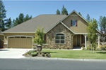 Traditional House Plan Front Photo 09 - Saxon Ridge Country Home  011D-0327 | House Plans and More
