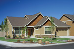 Shingle House Plan Front Photo 01 - Overlake Craftsman Home 011D-0330 | House Plans and More
