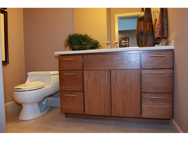 Modern House Plan Bathroom Photo 03 - Eton Sound Contemporary Home  011D-0341 | House Plans and More