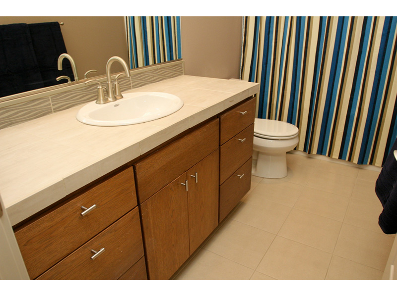 Modern House Plan Bathroom Photo 06 - Eton Sound Contemporary Home  011D-0341 | House Plans and More