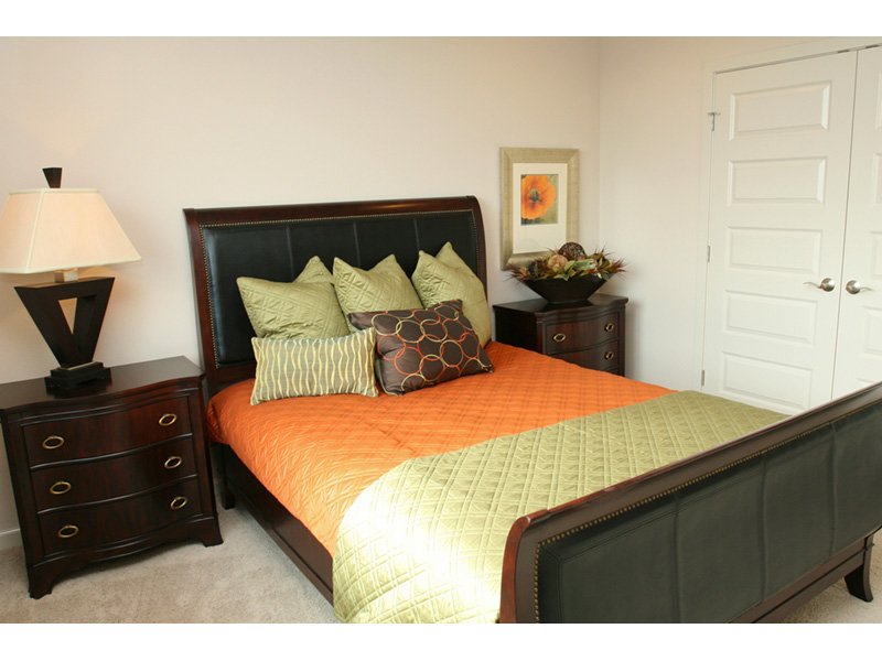 Modern House Plan Bedroom Photo 02 - Eton Sound Contemporary Home  011D-0341 | House Plans and More