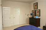 Modern House Plan Bedroom Photo 07 - Eton Sound Contemporary Home  011D-0341 | House Plans and More