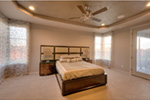 Modern House Plan Bedroom Photo 08 - Eton Sound Contemporary Home  011D-0341 | House Plans and More