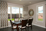 Modern House Plan Dining Room Photo 01 - Eton Sound Contemporary Home  011D-0341 | House Plans and More