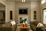 Modern House Plan Family Room Photo 02 - Eton Sound Contemporary Home  011D-0341 | House Plans and More