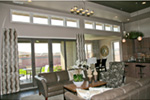Modern House Plan Family Room Photo 03 - Eton Sound Contemporary Home  011D-0341 | House Plans and More