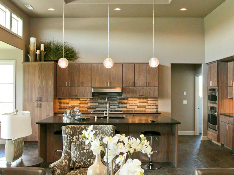 Modern House Plan Great Room Photo 05 - Eton Sound Contemporary Home  011D-0341 | House Plans and More