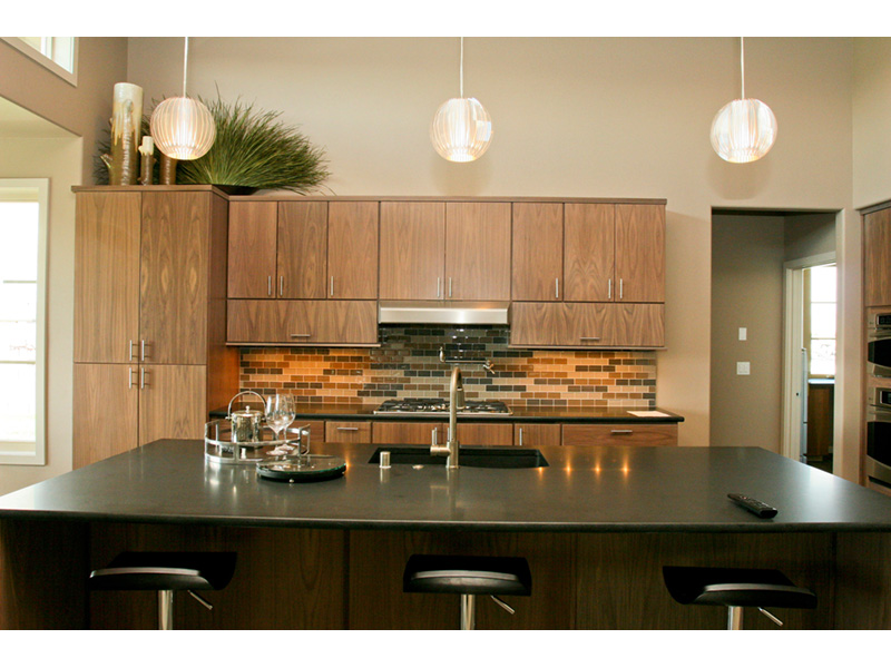 Modern House Plan Kitchen Photo 10 - Eton Sound Contemporary Home  011D-0341 | House Plans and More