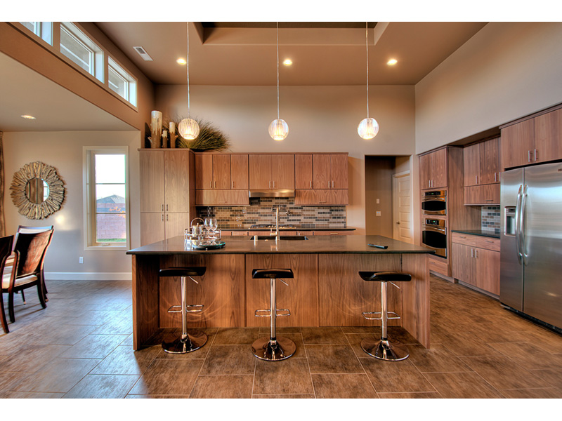 Modern House Plan Kitchen Photo 11 - Eton Sound Contemporary Home  011D-0341 | House Plans and More