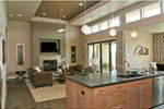 Modern House Plan Kitchen Photo 02 - Eton Sound Contemporary Home  011D-0341 | House Plans and More