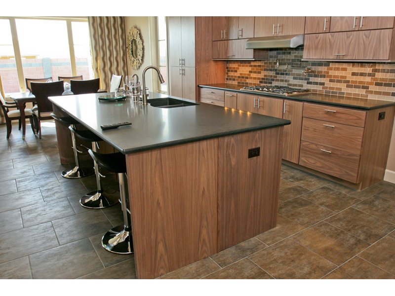 Modern House Plan Kitchen Photo 06 - Eton Sound Contemporary Home  011D-0341 | House Plans and More