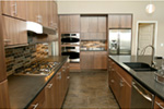 Modern House Plan Kitchen Photo 07 - Eton Sound Contemporary Home  011D-0341 | House Plans and More