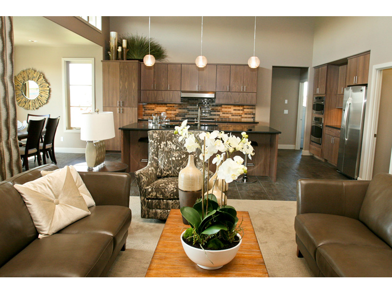 Modern House Plan Kitchen Photo 08 - Eton Sound Contemporary Home  011D-0341 | House Plans and More