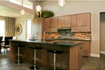 Modern House Plan Kitchen Photo 09 - Eton Sound Contemporary Home  011D-0341 | House Plans and More