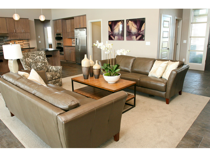 Modern House Plan Living Room Photo 01 - Eton Sound Contemporary Home  011D-0341 | House Plans and More