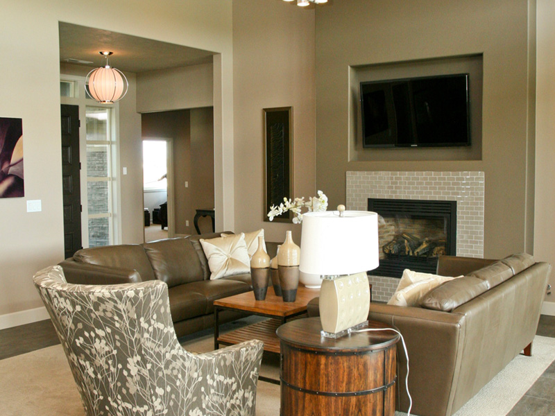 Modern House Plan Living Room Photo 04 - Eton Sound Contemporary Home  011D-0341 | House Plans and More