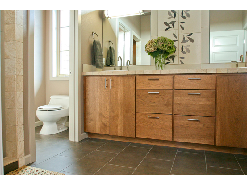 Modern House Plan Master Bathroom Photo 10 - Eton Sound Contemporary Home  011D-0341 | House Plans and More