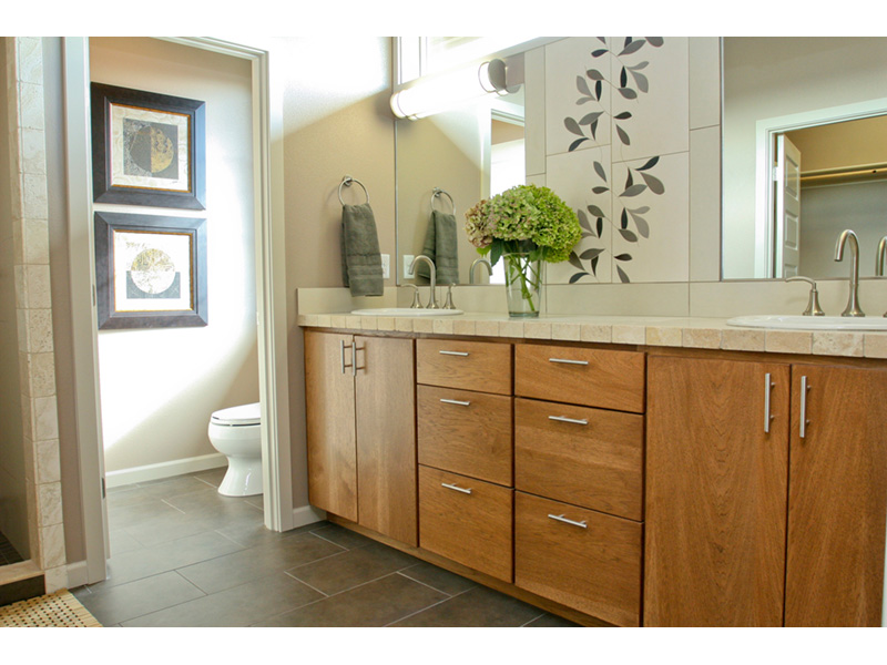 Modern House Plan Master Bathroom Photo 11 - Eton Sound Contemporary Home  011D-0341 | House Plans and More