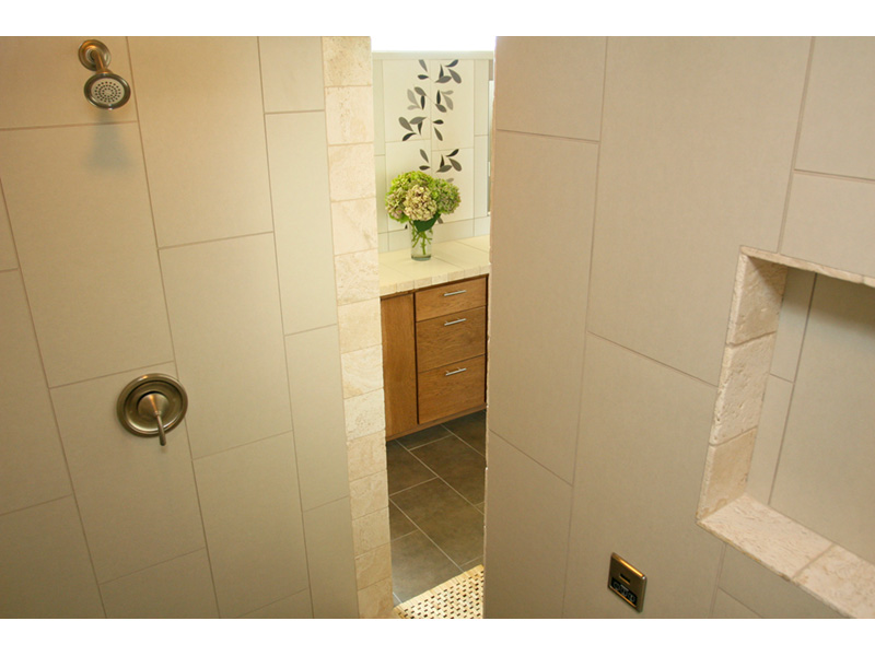 Modern House Plan Master Bathroom Photo 03 - Eton Sound Contemporary Home  011D-0341 | House Plans and More