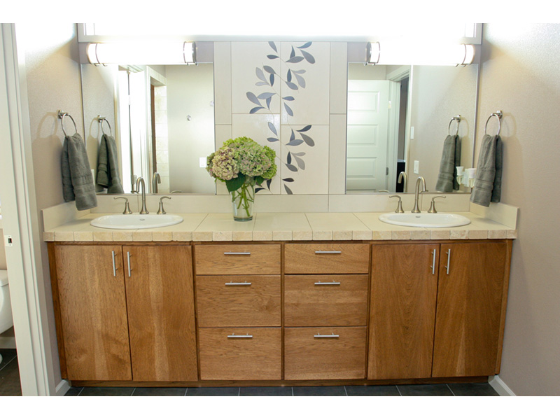 Modern House Plan Master Bathroom Photo 07 - Eton Sound Contemporary Home  011D-0341 | House Plans and More