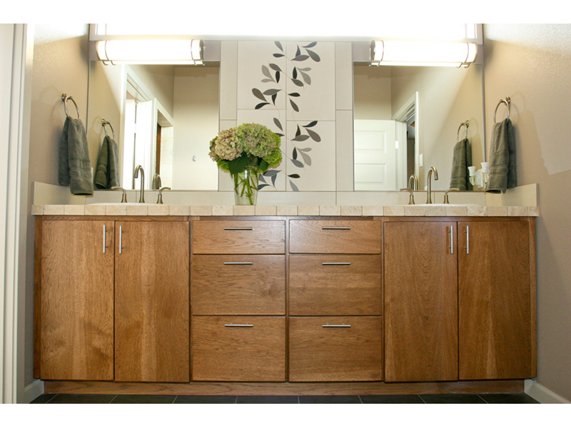 Modern House Plan Master Bathroom Photo 09 - Eton Sound Contemporary Home  011D-0341 | House Plans and More