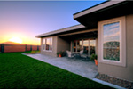Modern House Plan Rear Photo 02 - Eton Sound Contemporary Home  011D-0341 | House Plans and More